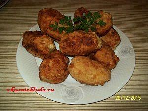 как приготовить фаршированный картофель