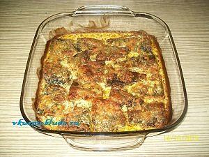 рецепт скумбрии с овощами