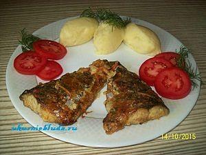 скумбрия с овощами рецепт