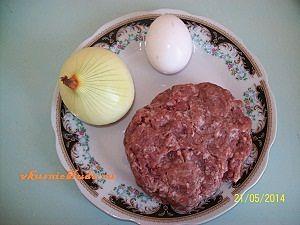 фарш яйцо лук