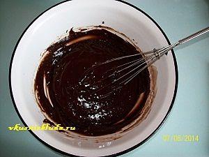 шоколадное тесто для пирога