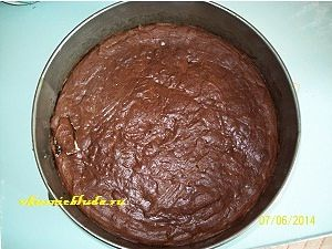 шоколадный пирог с творогом рецепт