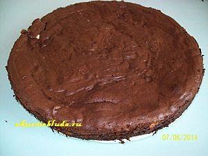 вкусный шоколадный пирог с творогом