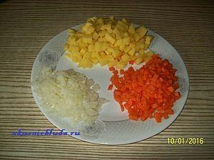 овощи для сырного супа