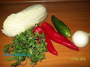 овощи для вкусного салата