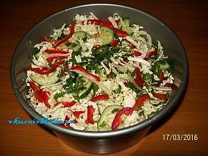 рецепт вкусного салата из овощей