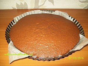 бисквитный корж для торта