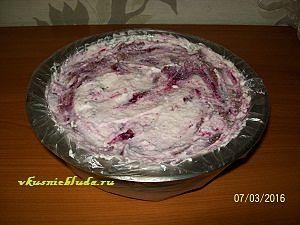 формируем бисквитный торт