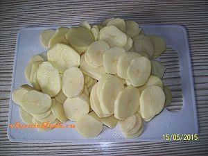 нарезка картошки для запекания