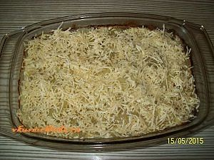 присыпаем картошку сыром
