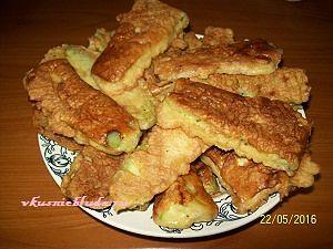 рецепт жареных кабачков