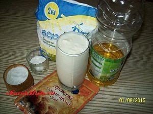 ингредиенты для духовых пирожков