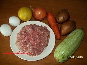 ингредиенты для фрикаделек в соусе