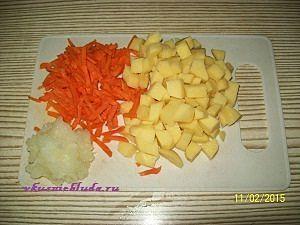 овощи для горохового супа
