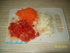 овощи для мясного пирога