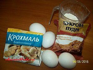 ингредиенты для бисквитного коржа