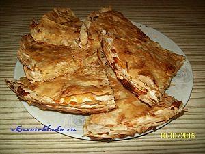лаваш с сырной начинкой