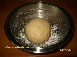 тесто для пирога с сосисками