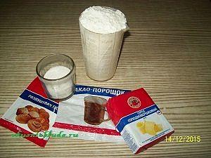 ингредиенты пирог шоколадный