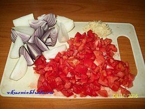 лук помидоры чеснок