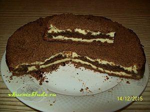 рецепт пирога шоколадного