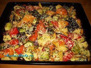 рецепт запеченных овощей