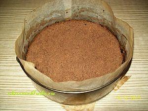 выпекаем пирог шоколадный