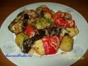 Запеченные овощи в духовке.