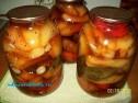 Жареный болгарский перец на зиму.