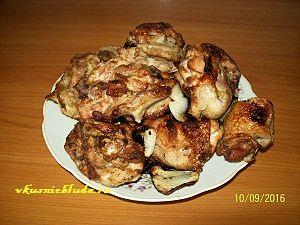 куриные бедрышки шашлык