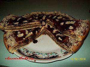 рецепт орехового торта
