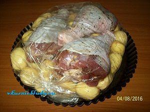 индейка с картошкой