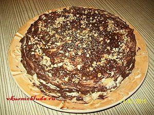 как приготовить королевский торт