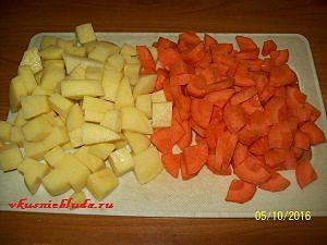 картофель морковь для карри