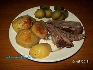 картофель с индейкой