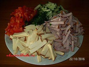 нарезка для салата соломкой