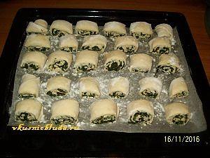 отправляем пирожки в духовку