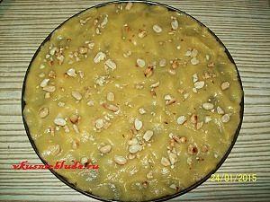 песочное тесто с орехами