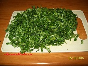 зелень кориандра
