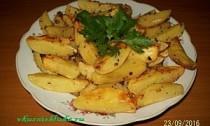 как запечь картофель в духовке