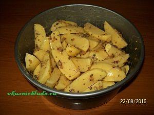 картошка в дижонской горчице