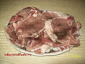 куски свинины для запекания