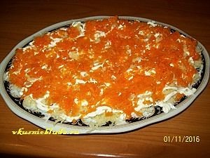 морковь для мимозы