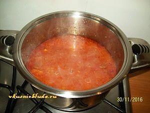 рецепт фасоли с мясом