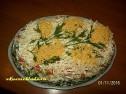 Рыбный салат «Мимоза».