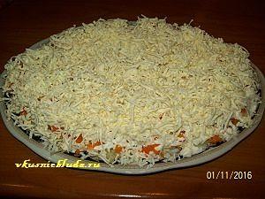 сырный слой для мимозы
