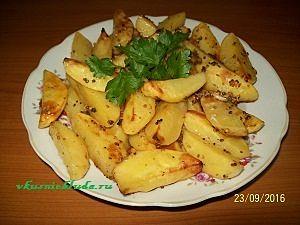 запечь картошку в духовке