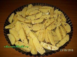 запекаем картошку в горчице