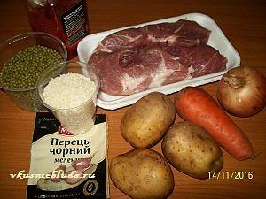 ингредиенты для машевого супа