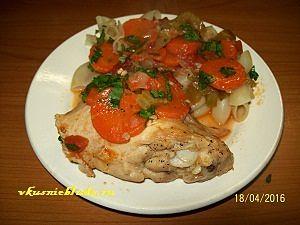 рецепт курицы тушеной с овощами